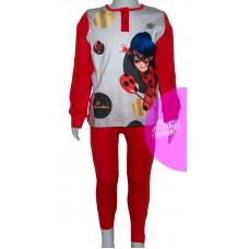 Dievčenské dlhé pyžamo Kouzelná Beruška 104,110