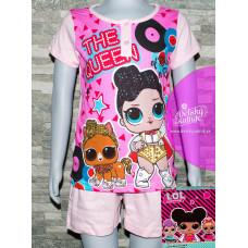 Dievčenské letné pyžamo LOL v darčekovom balení