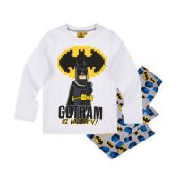 Pyžamo chlapčenské Lego Batman biele