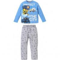 Pyžamo chlapčenské Lego City modré