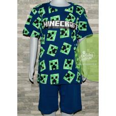 Chlapčenské letné pyžamo Minecraft