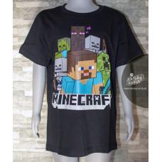 Chlapčenské letné tričko Minecraft