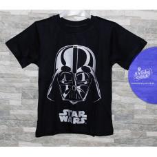 Chlapčenské letné tričko Star Wars strieborné 122,152