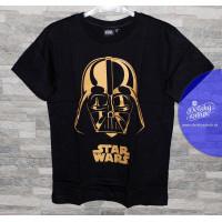Chlapčenské letné tričko Star Wars zlaté