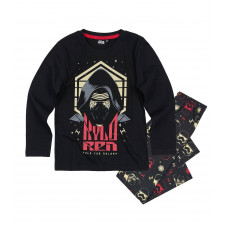 Pyžamo chlapčenské Star Wars s dlhým rukávom čierne 116