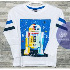 Chlapčenské tričko Star Wars biele 104-128 cm