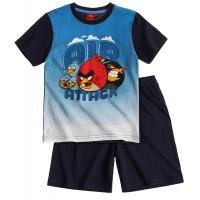 Chlapčenské letné pyžamo Angry Birds tmavé