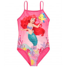 Jednodielné plavky Disney Ariel ružové