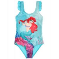 Jednodielné plavky Disney Ariel modré