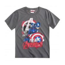 Tričko letné Avengers Assamble šedé