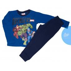 Chlapčenské dlhé pyžamo Avengers modré 128