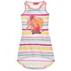 Letné dievčenské šaty Barbie pásikavé