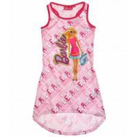 Letné dievčenské šaty Barbie ružové