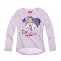Tričko Barbie s dlhým rukávom fialové
