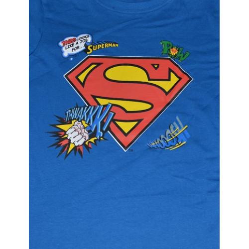 980a64892048 ... Tričko chlapčenské Superman s dlhým rukávom ...