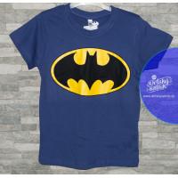 Chlapčenské letné tričko Batman fialové