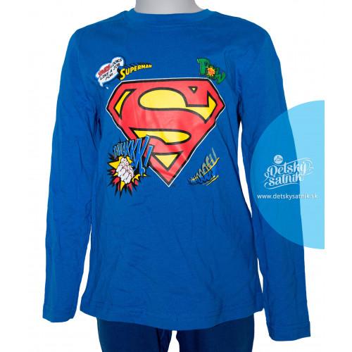 a9c687752ebc ... Tričko chlapčenské Superman s dlhým rukávom