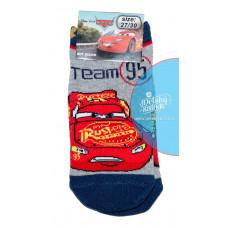 Chlapčenské ponožky Disney Cars členkové šedé