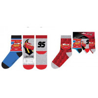 Chlapčenské ponožky Disney Cars vzor 1