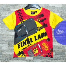 Chlapčenské letné tričko Disney Cars final