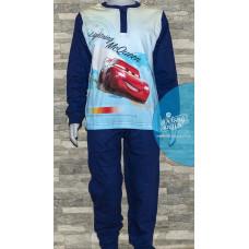 Chlapčenské dlhé pyžamo Disney Cars modré 104