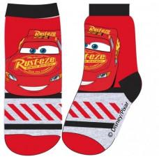 Chlapčenské ponožky Disney Cars červené