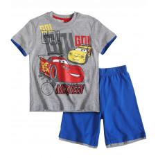 Chlapčenský letný set Disney Auta šedý