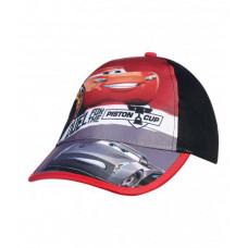 Chlapčenská šiltovka Disney Cars červeno-čierna