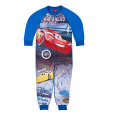 Chlapčenské pyžamo dlhé Cars teplý overal (flis)