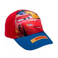 Chlapčenská šiltovka Disney Cars Mcqueen červená