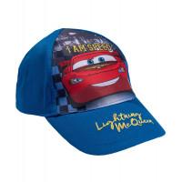 Chlapčenská šiltovka Disney Cars Mcqueen modrá