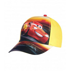 Chlapčenská šiltovka Disney Cars žltá č.54