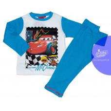 Chlapčenské dlhé pyžamo Disney Cars modro-biele
