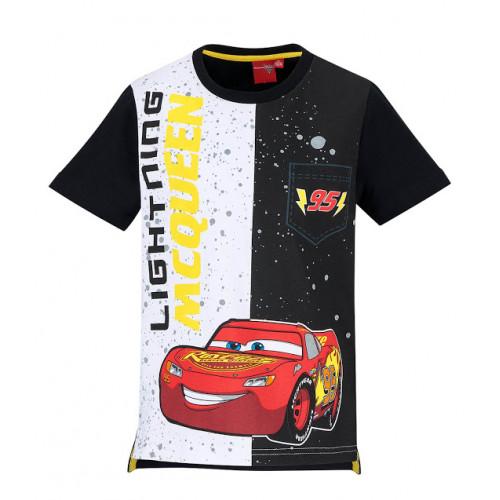 59f23832c410 Chlapčenské letné tričko Disney Cars čierno-biele ...
