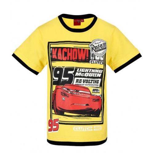 3a43b1cc8b41 Chlapčenské letné tričko Disney Cars žlté ...