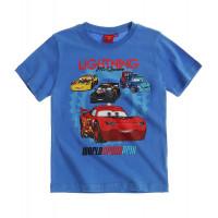 Chlapčenské letné tričko Cars modré