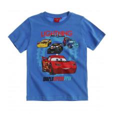 Chlapčenské letné tričko Cars modré č.128