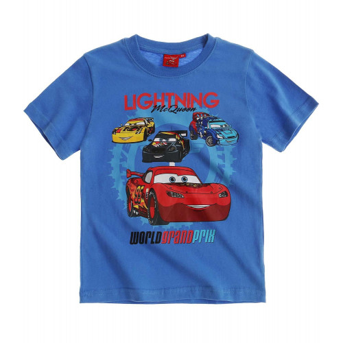 Chlapčenské letné tričko Cars modré ... f211c262142