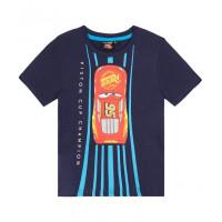 Chlapčenské tričko letné Cars tmavo modré