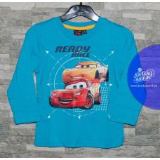 Chlapčenské dlhé tričko Cars tyrkysové 116,122