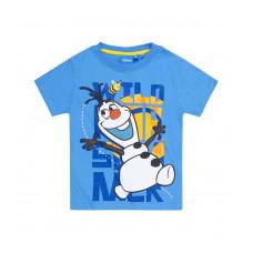 Tričko chlapčenské Disney Olaf modré s krátkym rukávom