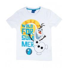 Tričko chlapčenské Disney Olaf letné biele