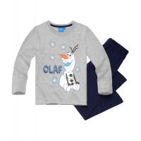 Chlapčenské pyžamo Disney Frozen Olaf šedé