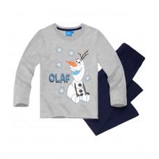 Chlapčenské pyžamo Disney Frozen Olaf šedé č.116