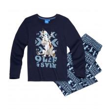 Chlapčenské pyžamo Disney Frozen Olaf tmavo modré