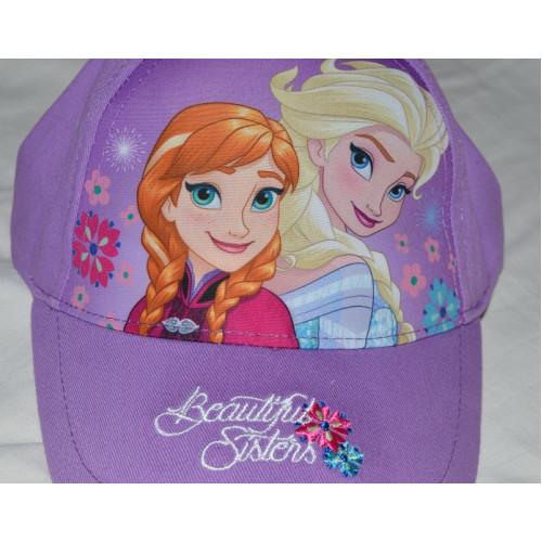 c684e9b3937f ... Dievčenská šiltovka Disney Frozen Elsa a Anna