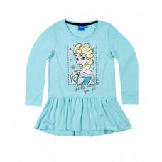 Ľadové kráľovstvo dievčenská tunika modrá