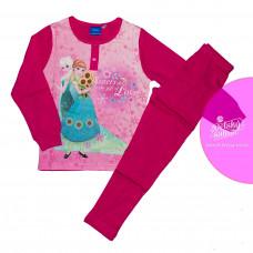 Pyžamo Disney Ľadové kráľovstvo tmavo-ružové