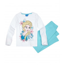 Pyžamo Disney Ľadové kráľovstvo biele