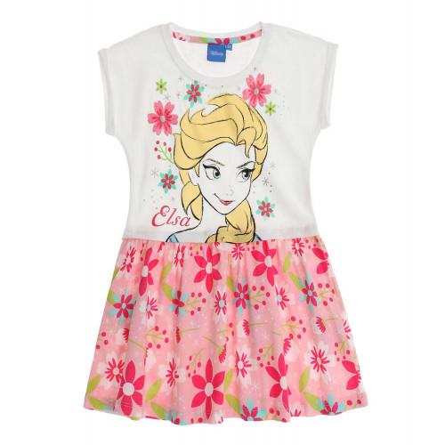 b2291835df08 Letné dievčenské šaty Disney Frozen biele ...